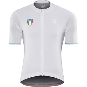 Sportful Italia CL Kortärmad cykeltröja Herr white